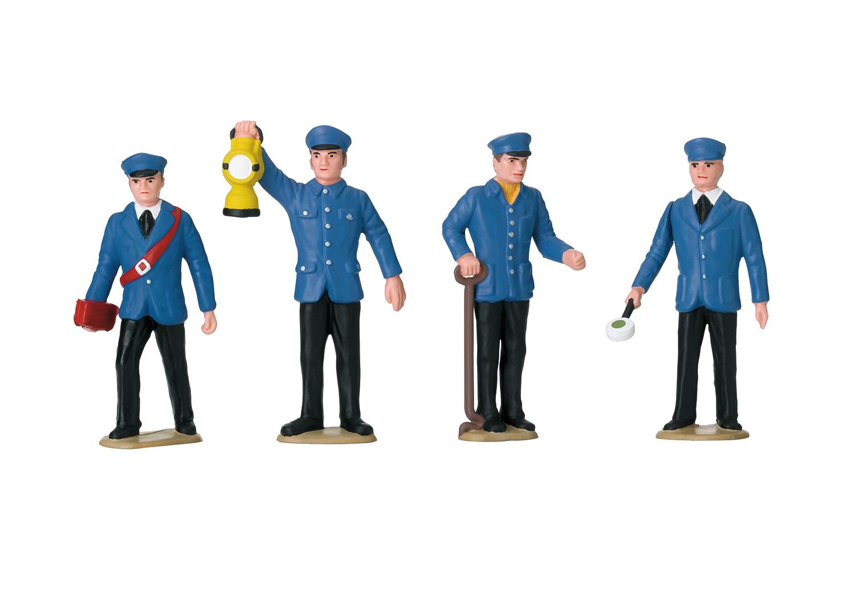 LGB 53001 <br/>Figurenset Bahnpersonal Deuts 1