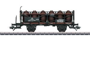 Märklin 46393 <br/>Säuretopfwagen mit Bremserbühne