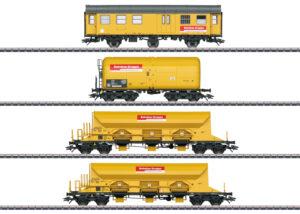 """Märklin 49969 <br/>Güterwagen-Set """"Bahnbaugruppe"""""""