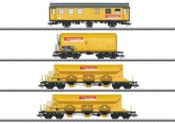 """Märklin 49969 <br/>Güterwagen-Set """"Bahnbaugruppe"""" 1"""