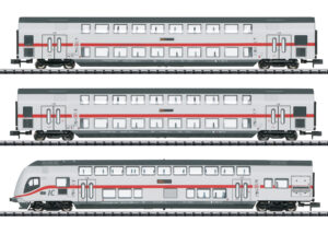 TRIX 15385 <br/>IC-Doppelstockwagen-Set DB AG