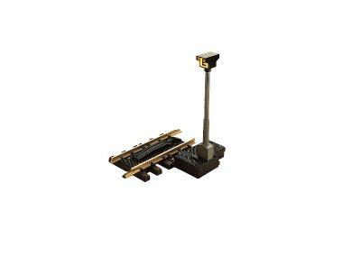 LGB 10560 <br/>Entkupplungs-Gleis mit elektromagnetischem Antrieb, 150 mm