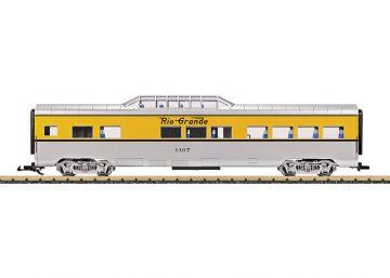 LGB 36574 <br/>Dome Car DRGW 1
