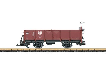 LGB 40037 <br/>Offener Güterwagen HSB 1