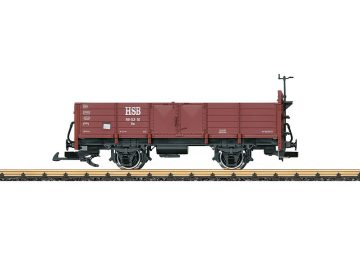 LGB 40038 <br/>Offener Güterwagen HSB 1