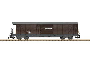 LGB 40083 <br/>Güterwagen, gedeckt, RhB 1