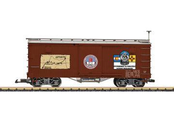 LGB 40671 <br/>Cumbres & Toltec Boxcar 1