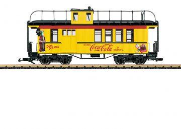LGB 40757 <br/>Coca Cola Caboose 1