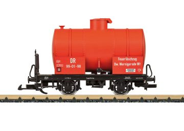 LGB 42010 <br/>Feuerlöschzug-Kesselwagen DR 1