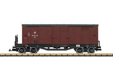 LGB 42639 <br/>Güterwagen, gedeckt, DR 1