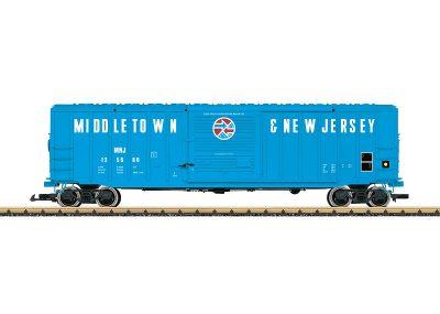 LGB 42933 <br/>Box Car Middeltown & New Jersey