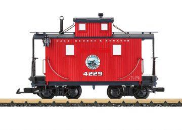 LGB 45651 <br/>Caboose LGB RR 1