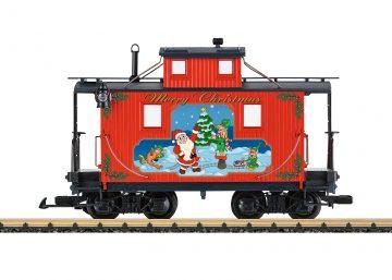 LGB 45652 <br/>Caboose Weihnachten 1