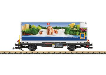 LGB 46892 <br/>Containerwagen Aldi, RhB 1