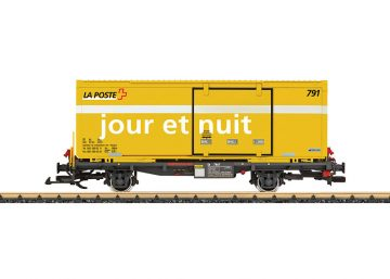 LGB 47894 <br/>Post Containertragwagen RhB 1
