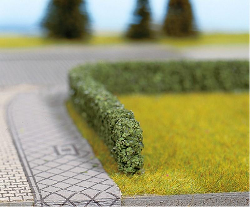 NOCH 21514 <br/>Modellhecken, dunkelgrün, 15 x 8 mm