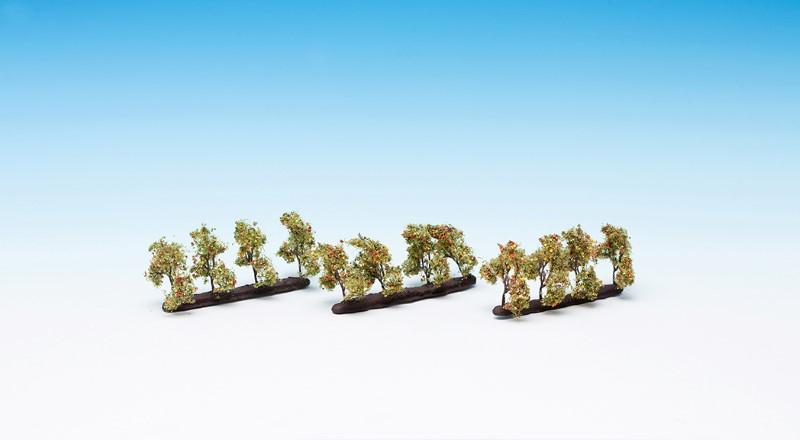 NOCH 21532 <br/>Plantagenbäume mit Äpfeln