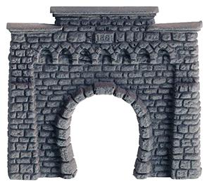 NOCH 44810 <br/>Tunnel-Portal, 1-gleisig, 6,5 x 6 cm