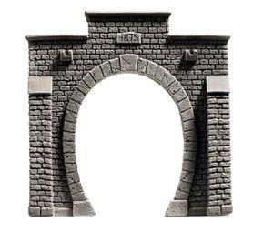 NOCH 48051 <br/>Tunnel-Portal, 1-gleisig, 10 x 10 cm