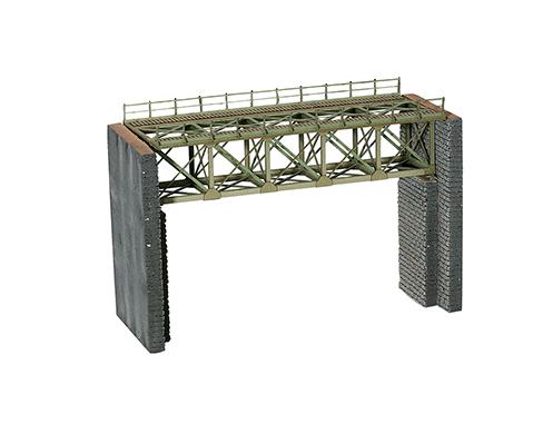 NOCH 67010 <br/>Brücke, Stahlbrücke, 18,8 cm lang