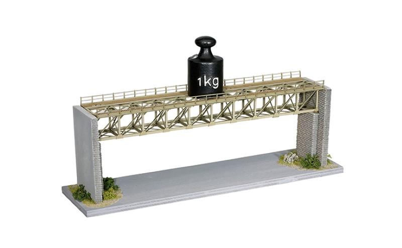 NOCH 67020 <br/>Brücke, Stahlbrücke, 37,2 cm lang 3