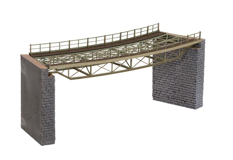 NOCH 67026 <br/>Brücken-Fahrbahn, gebogen, R2 437 mm