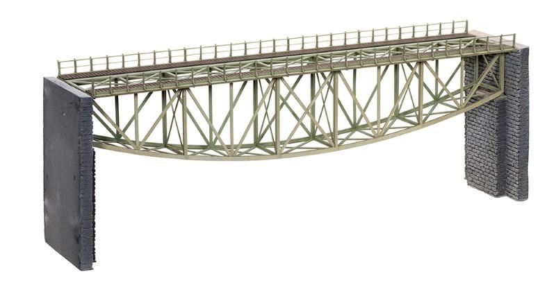 NOCH 67027 <br/>Fischbauchbrücke, 36 cm lang