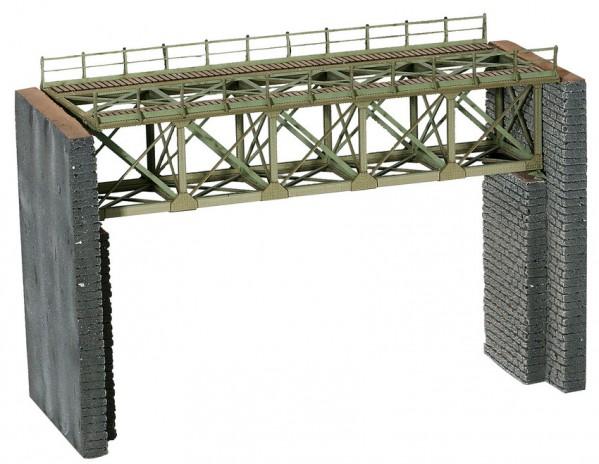 NOCH 67038 <br/>Brücke, Stahlbrücke für Schmalspurbahnen
