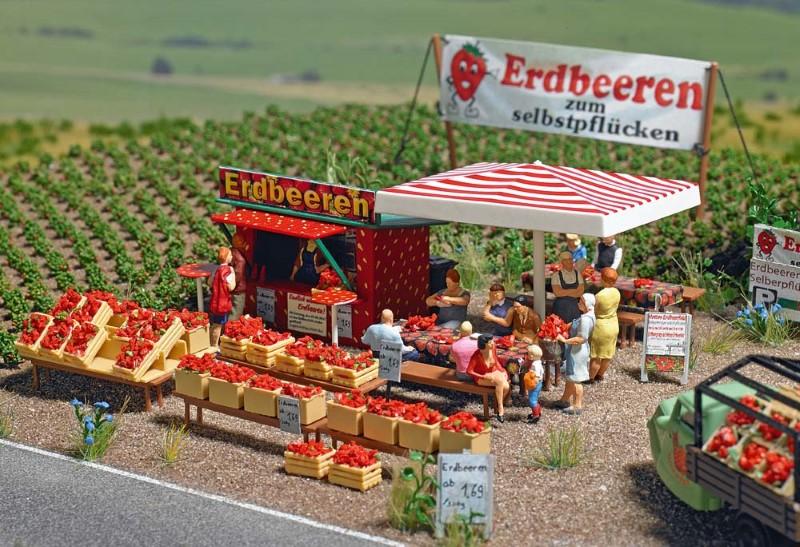BUSCH 1073 <br/>Erdbeerverkauf