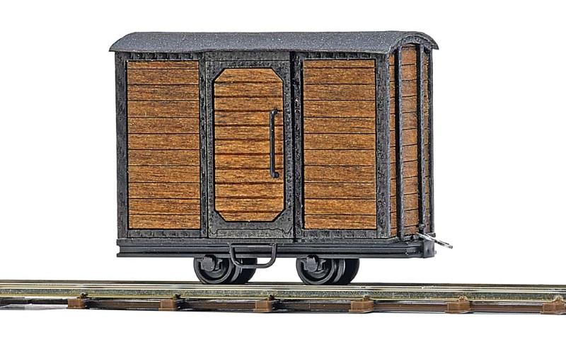 BUSCH 12230 <br/>Geschlossener Transportwagen