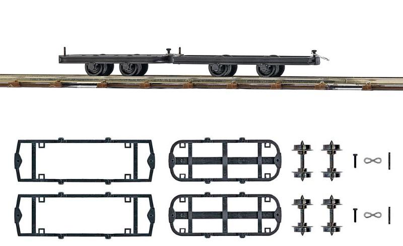 BUSCH 12295 <br/>Fahrwerke zum Umbauen, 2 Stück