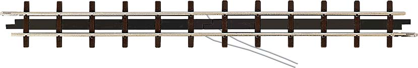 BUSCH 12306 <br/>Anschluss-Gleis, l=133,2 mm