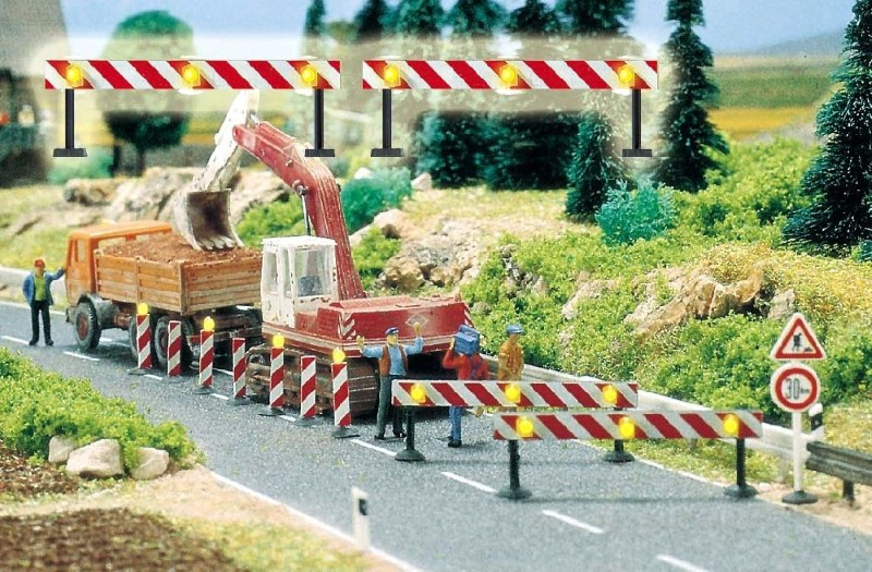 BUSCH 5905 <br/>Baustellen-Absperrungen