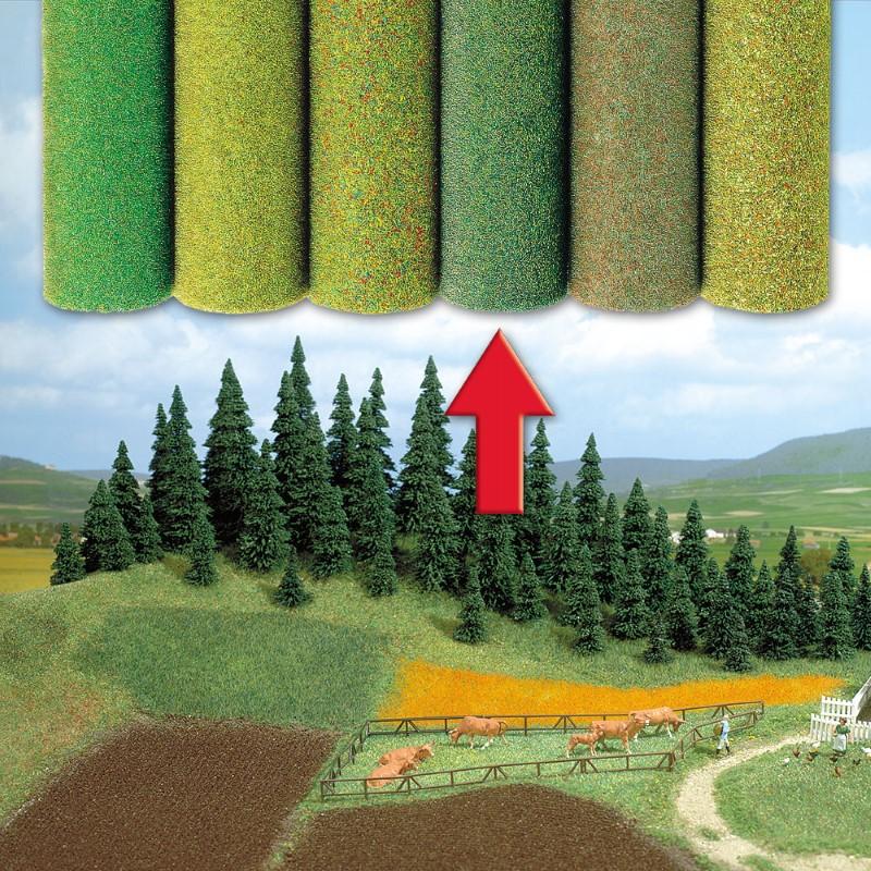 BUSCH 7233 <br/>Gelände-Teppich mit Farb-Schattierungen 1