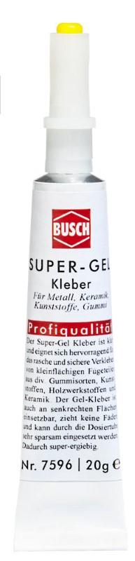BUSCH 7596 <br/>Super-Gel-Kleber 20g