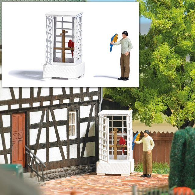 BUSCH 7813 <br/>Action Set: Vogelvoliere