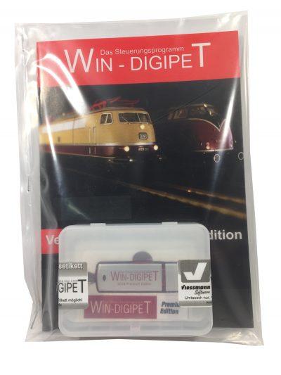 Viessmann 1009 <br/>WIN-DIGIPET Update von Premium Edition 2015 aufPremium Edition 2018 - DE, EN, NL