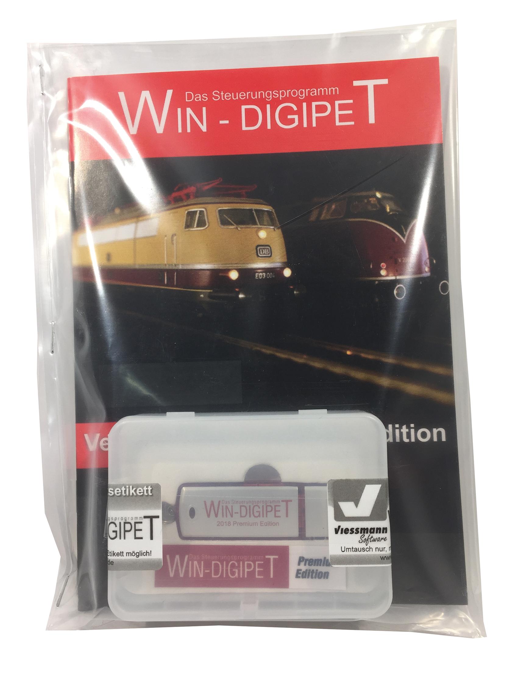 Viessmann 1010 <br/>WIN-DIGIPET Update von 2012 auf Premium Ed. 2018DE, EN, NL