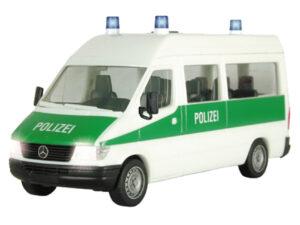 Viessmann 1130 <br/>H0 MERCEDES BENZ Sprinter Polizei mitelektrischem Blinklicht und Beleuchtung