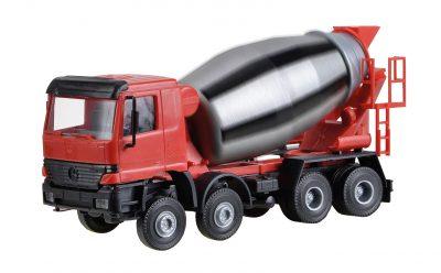 Viessmann 1133 <br/>Betonmischer-LKW mit rotierender Mischtrommel ersetzt 5133