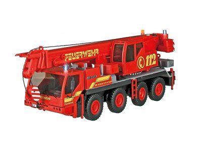 Viessmann 1141 <br/>Feuerwehr Kranwagen mit 3 Blaulichtern, Funktionsmodell  ersetzt 23041