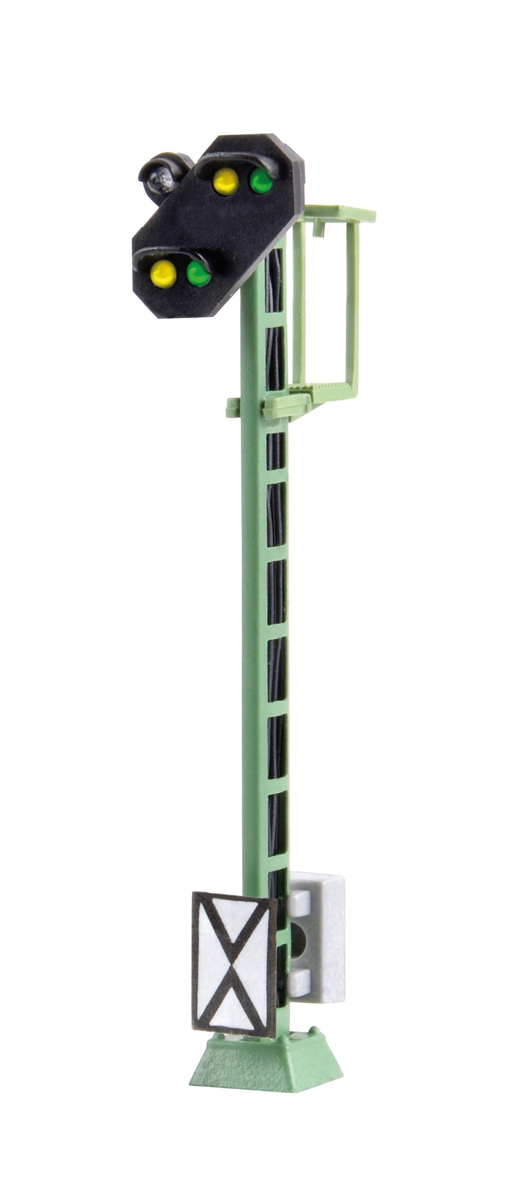 Viessmann 4030 <br/>Licht-Vorsignal mit Kennlicht