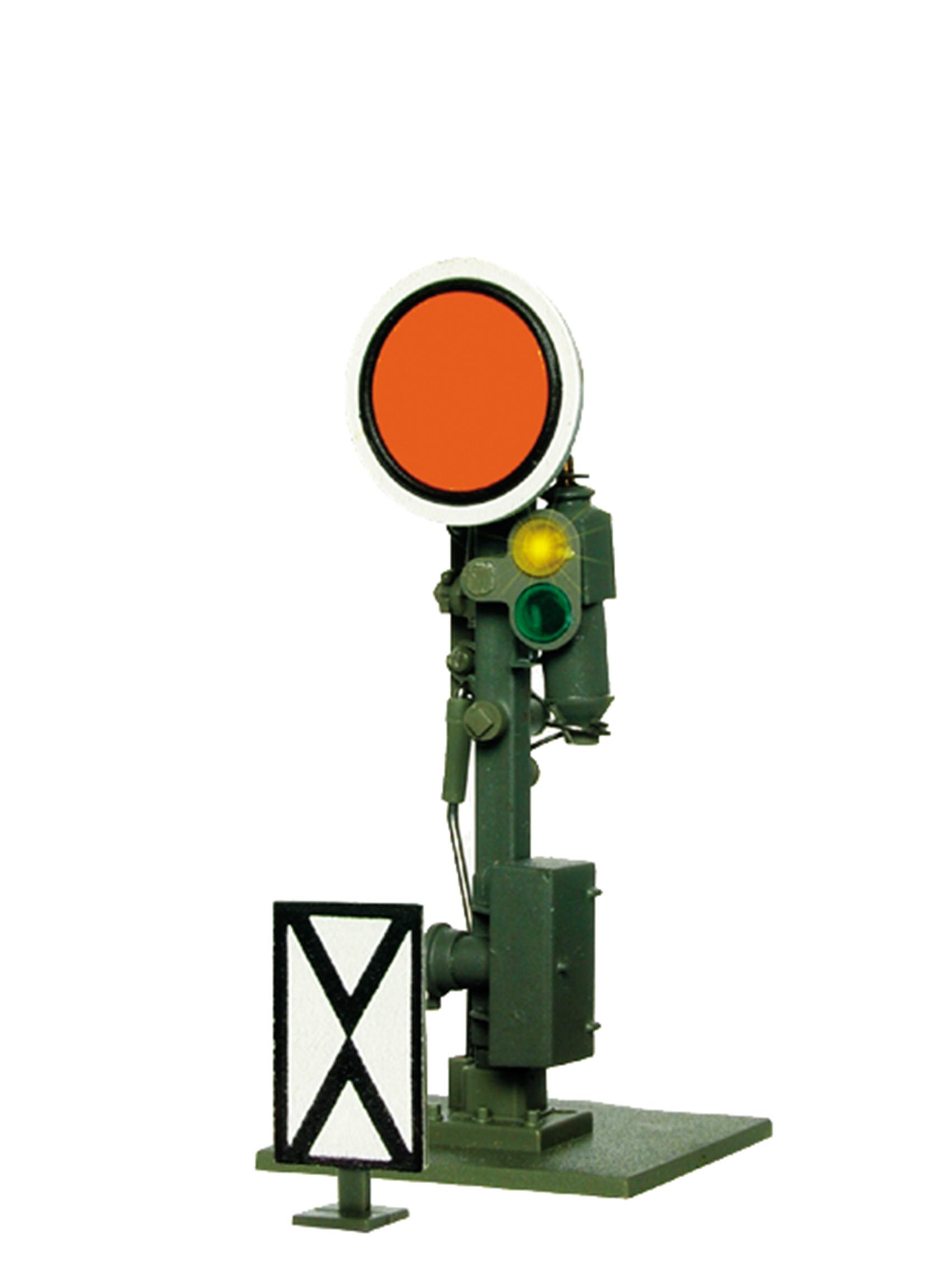 Viessmann 4906 <br/>Form-Vorsignal DR, Scheibe beweglich