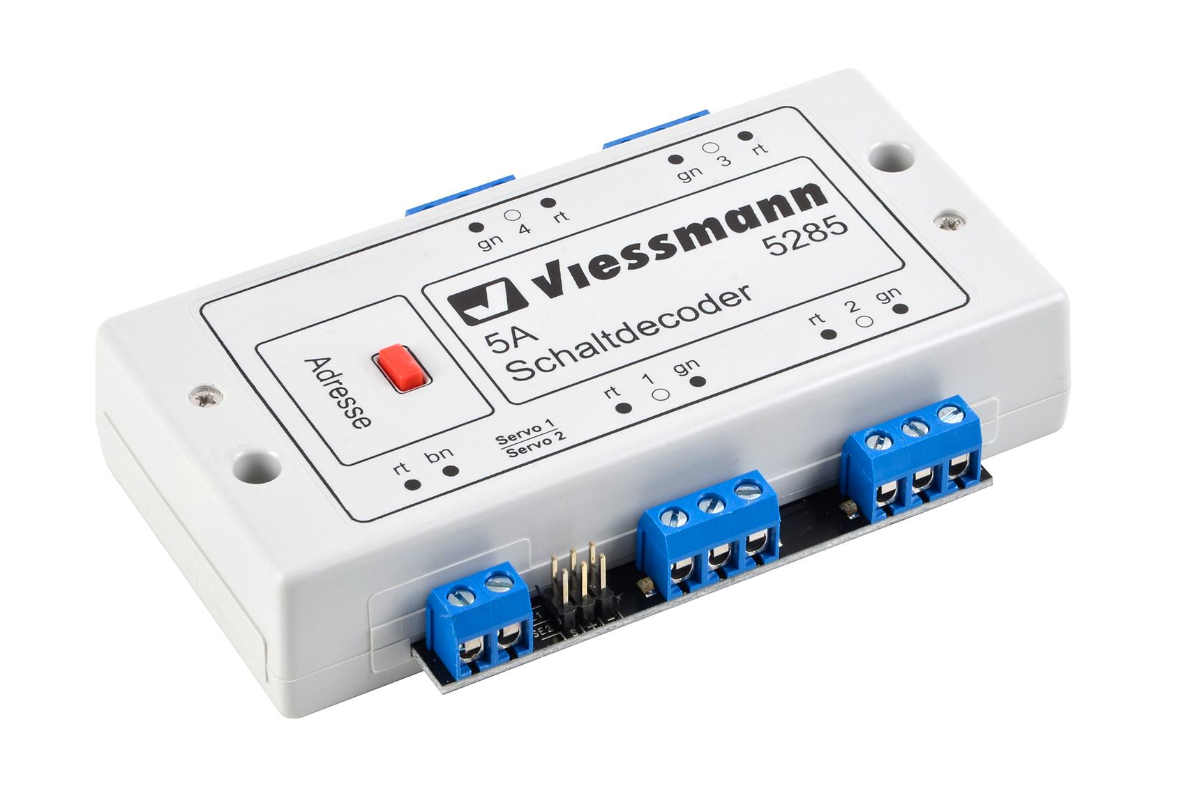 Viessmann 5285 <br/>Multiprotokoll-Schaltdecoder