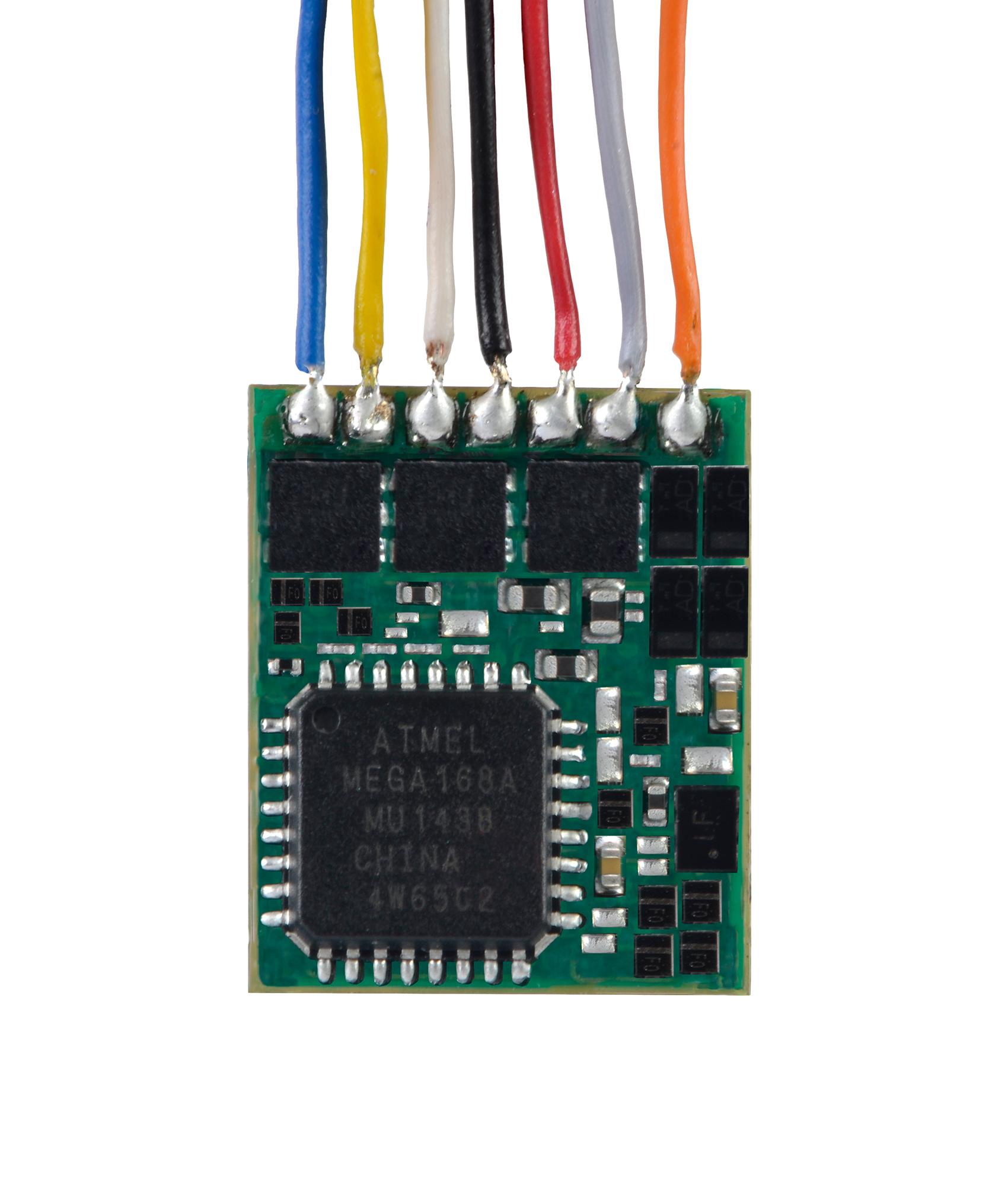 Viessmann 5296 <br/>N Lokdecoder mit Kabel - ersetzt 5240