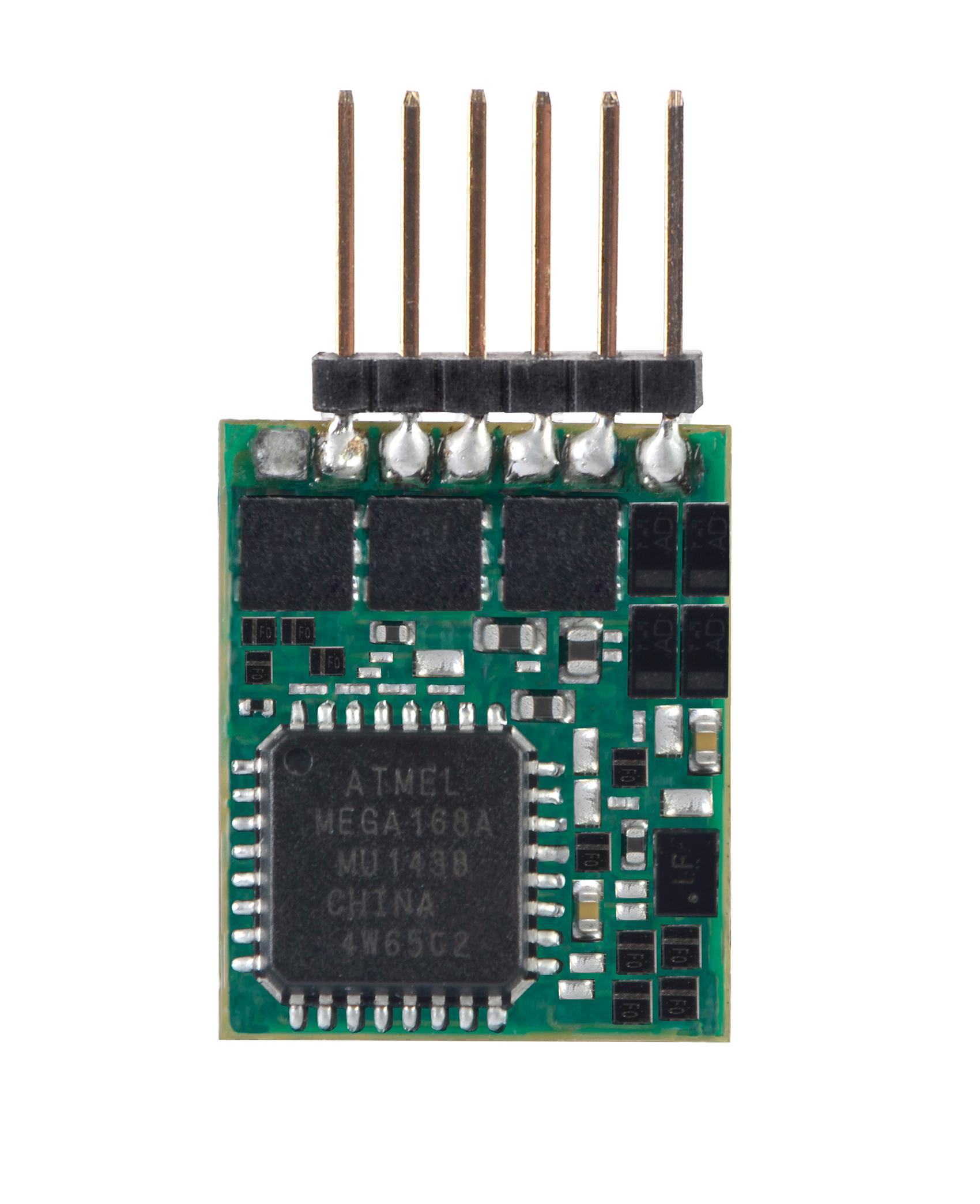 Viessmann 5297 <br/>N Lokdecoder mit Stiftleiste 6-polig- ersetzt 5241