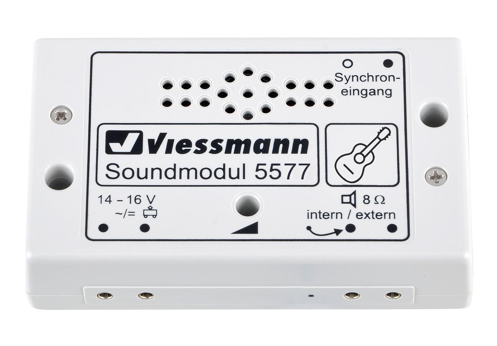 Viessmann 5577 <br/>Soundmodul Straßengitarrist