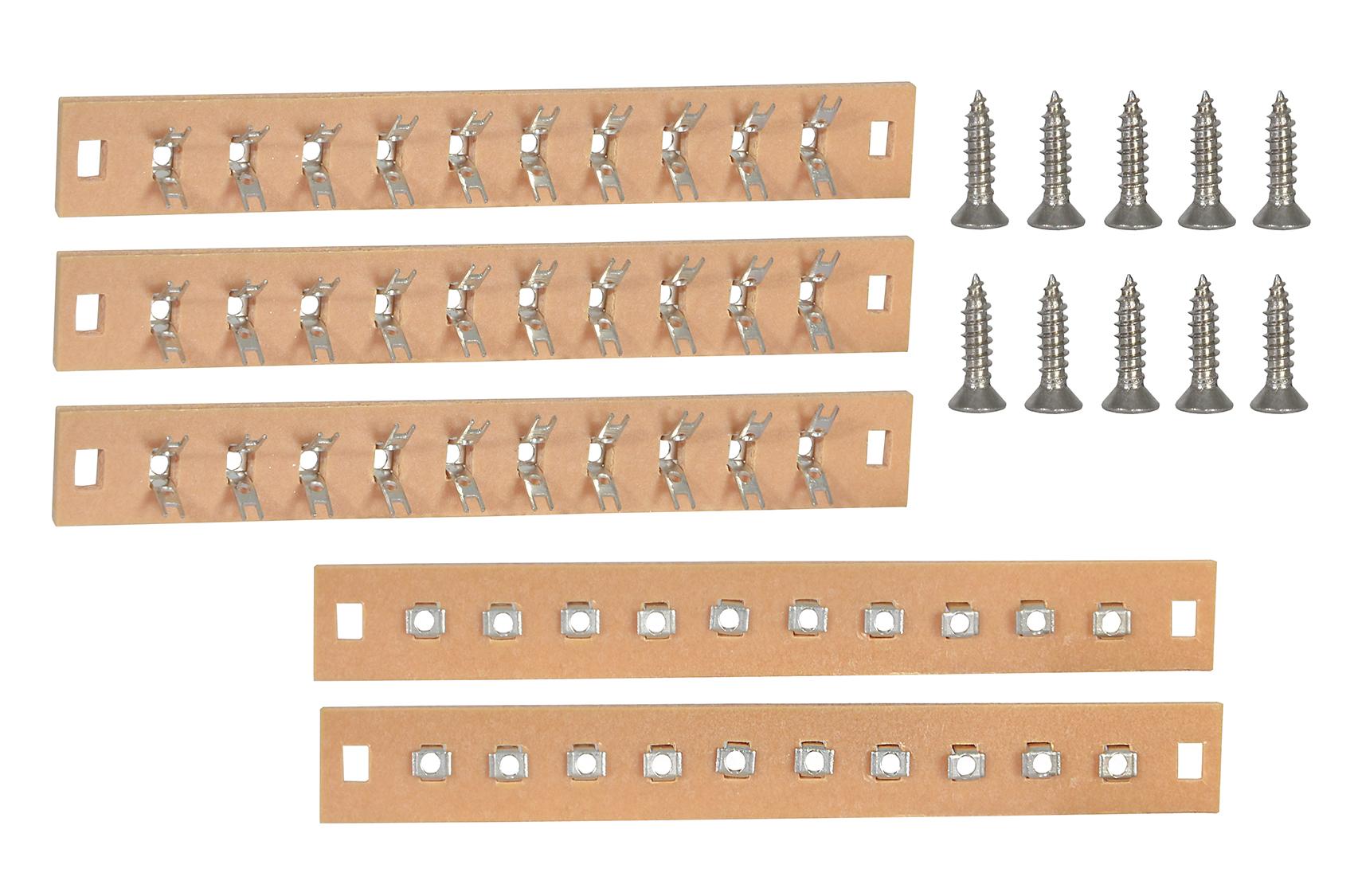 Viessmann 68475 <br/>Lötleisten mit Schrauben, 5 Stück