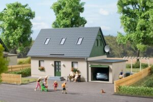Auhagen 11454 <br/>Einfamilienhaus mit Garage