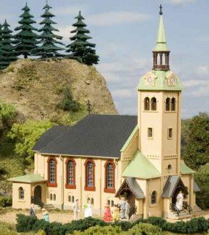 Auhagen 12229 <br/>Kirche Börnichen